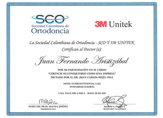 Sociedad Colombiana de Ortodoncia SCO 2011