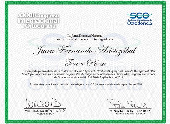 XXXII congreso internacional de ortodoncia